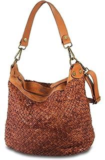 8bf8485db7a32 MIO Day echt Leder Frauen Schultertasche Handtasche Shopper Damen  Umhängetasche Beutel Handtaschen
