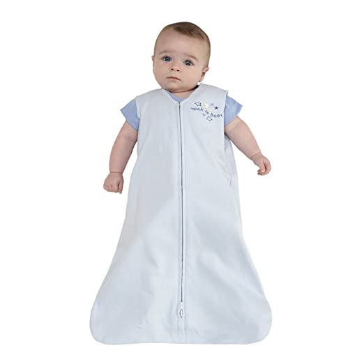 HALO SleepSack 100% Cotton Wearable Blanket, Baby azul, Large: Amazon.es: Bebé