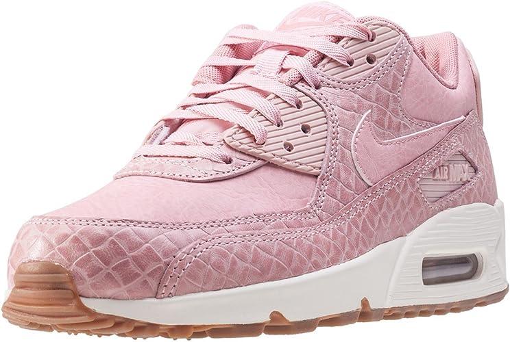 Nike Air Max 90 Premium Womens Trainers Blush Pink 3 UK