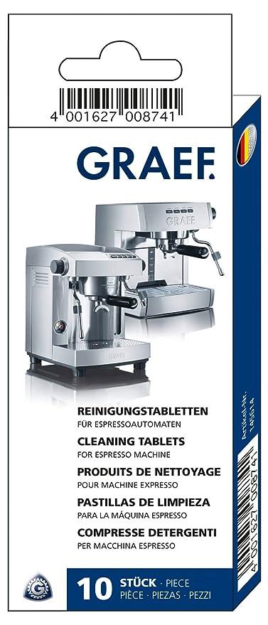 Graef 145614 - Pastillas de limpieza para cafeteras espresso ...