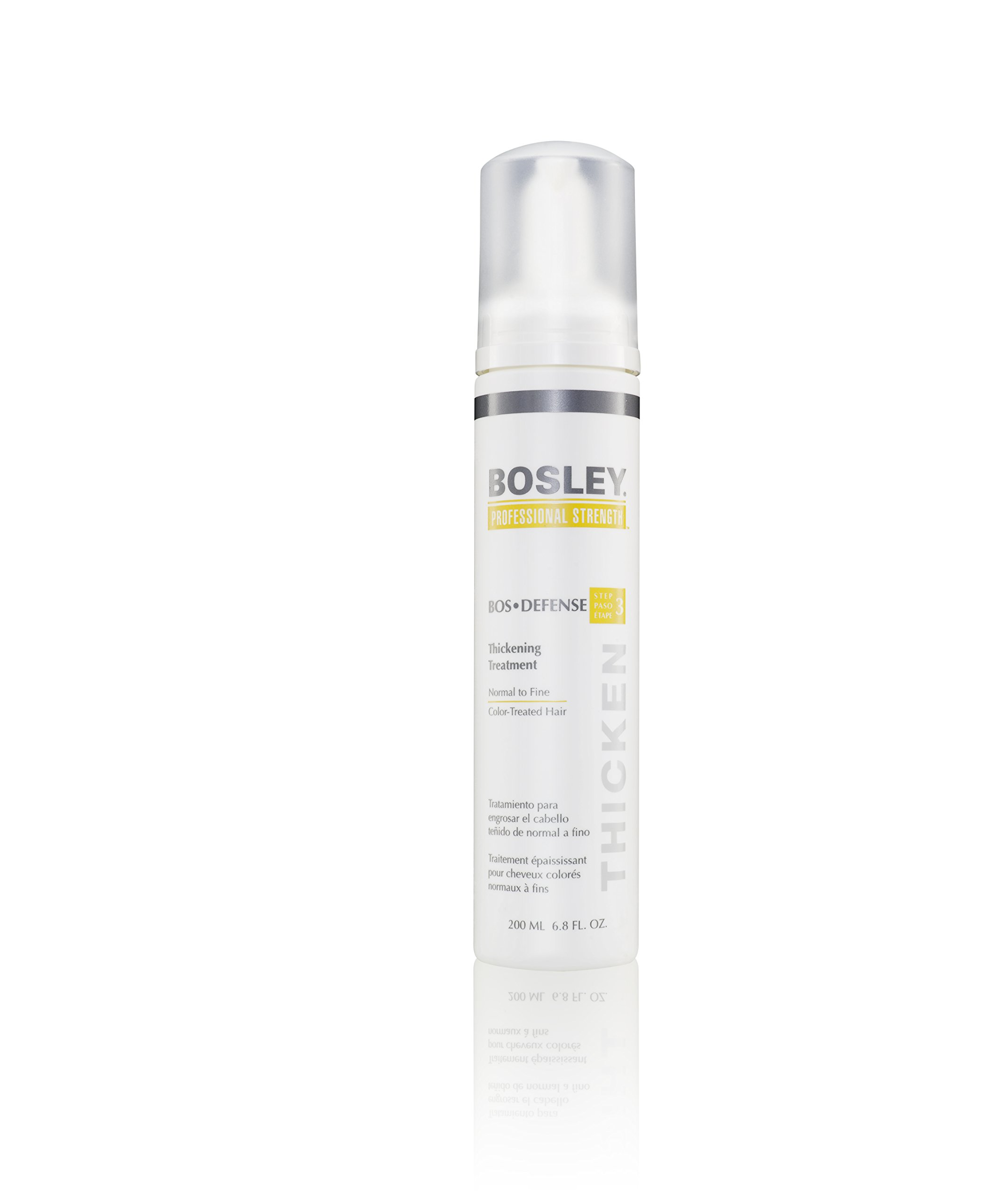 Bosley Professional Strength Bosdefense Treatment For Color-Treated Hair, 6.8 oz