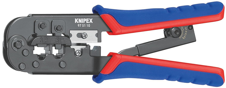 Knipex 975110 Pince /à sertir pour connecteurs utilis/és en Europe occidentale Import Grande Bretagne