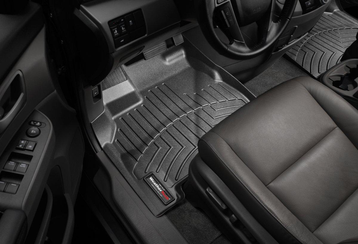 WeatherTech Front FloorLiner for Select Honda Odyssey Models (Black)