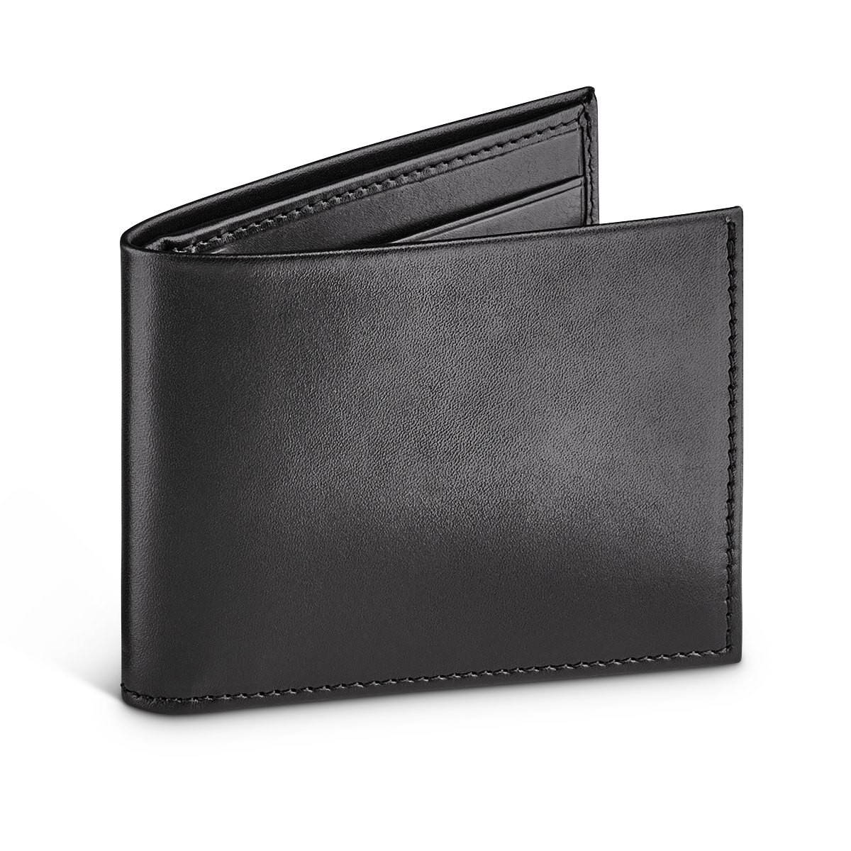 MORAL CODE The Turner: Premium Hand Crafted Slim Leather Billfold Wallet