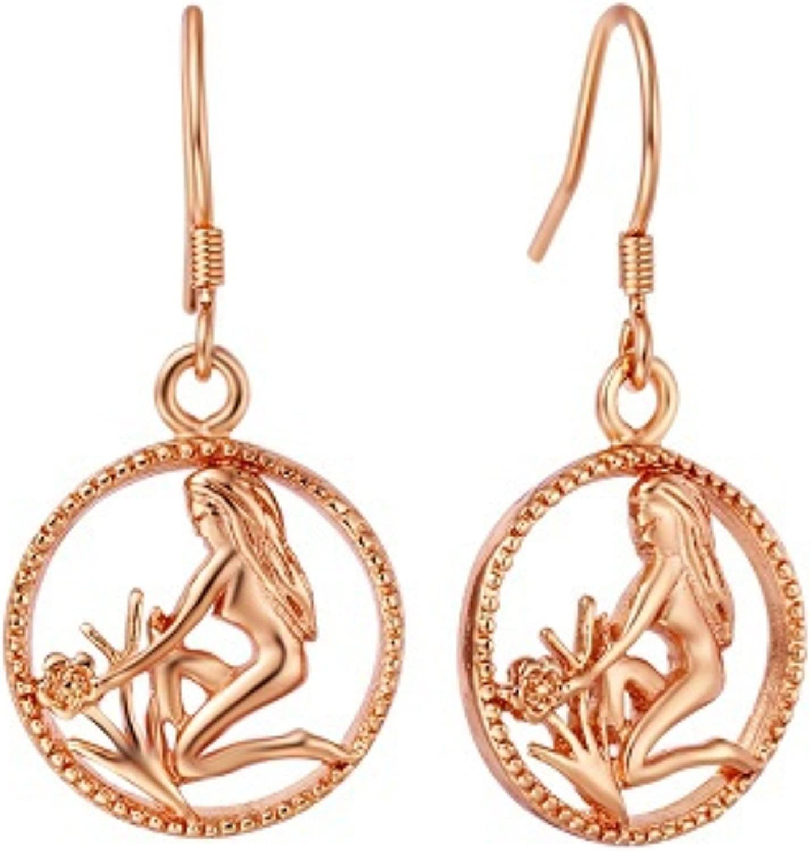 Virgo Earrings Virgo Zodiac Sign Symbol Zodiac Earrings Zodiac Stud Earrings Post Virgo Jewelry Zodiac Jewelry Virgo Birthday Gift Astrology