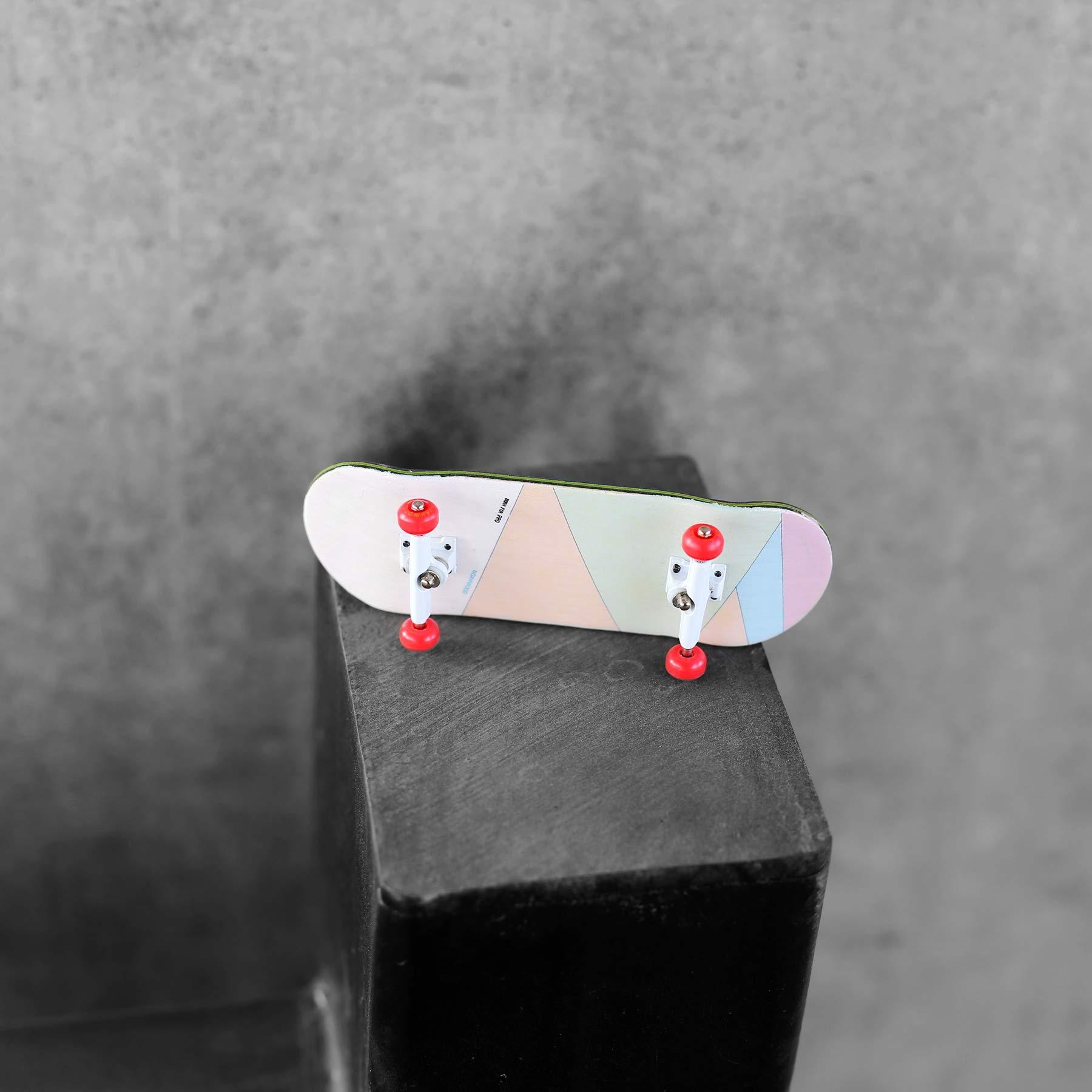 NOAHWOOD Wooden PRO Fingerboards (Deck,Truck,Wheel / a Set) (Born for PRO) by NOAHWOOD (Image #2)