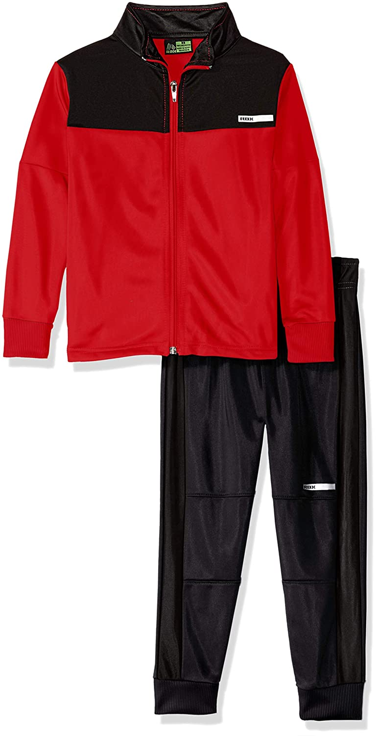 RBX Boys Tricot Zip Jacket and Pant Set