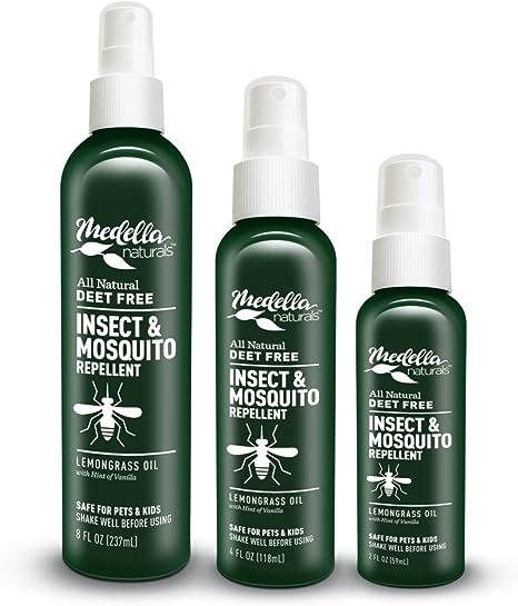 Amazon Com All Natural Insect Repellent By Medella Naturals