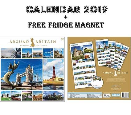 Alround Britain 365 Fotos Calendario Oficial 2019 + Imán para ...