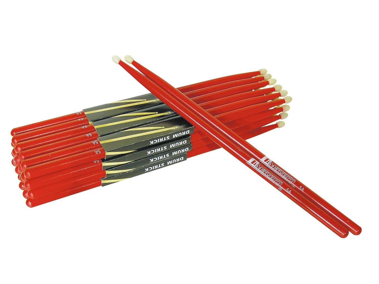16 Stück 8 Paar DIMAVERY DDS-5A Drumsticks Ahorn