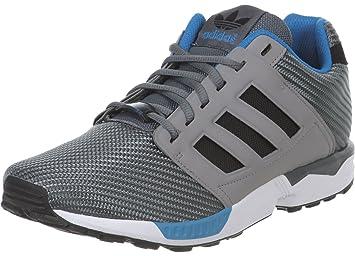 adidas Originals - Zapatillas de sintético para Hombre Gris Negro 41.3EU/ 26,0 cm, Color Gris, Talla 38: Amazon.es: Zapatos y complementos
