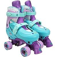 PlayWheels Disney Frozen Classic Quad Roller Skates, Size 1-4