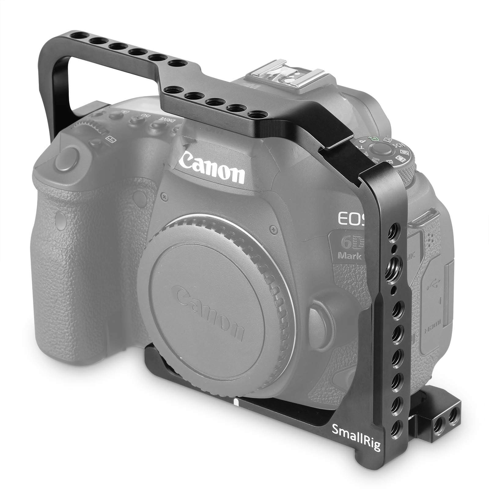 Smallrig 2142 Cage For Canon Eos 6d Mark Ii With Integrat..