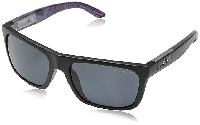 de431cb844 Image Unavailable. Image not available for. Colour  Arnette Sunglasses 4176  Dropout 222881 Matt Black Grey Polarized