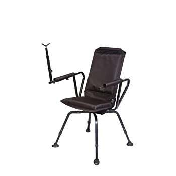 Benchmaster - Shooting & Hunting Chair - Sniper Seat 360 Shooting Chair - Full 360 Rotation - Quiet & Comfortable
