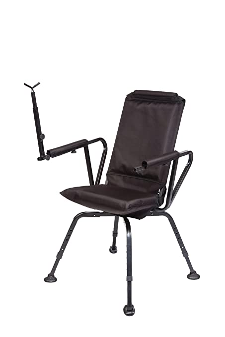 Wondrous Benchmaster Shooting Hunting Chair Sniper Seat 360 Shooting Chair Full 360 Rotation Quiet Comfortable Pdpeps Interior Chair Design Pdpepsorg