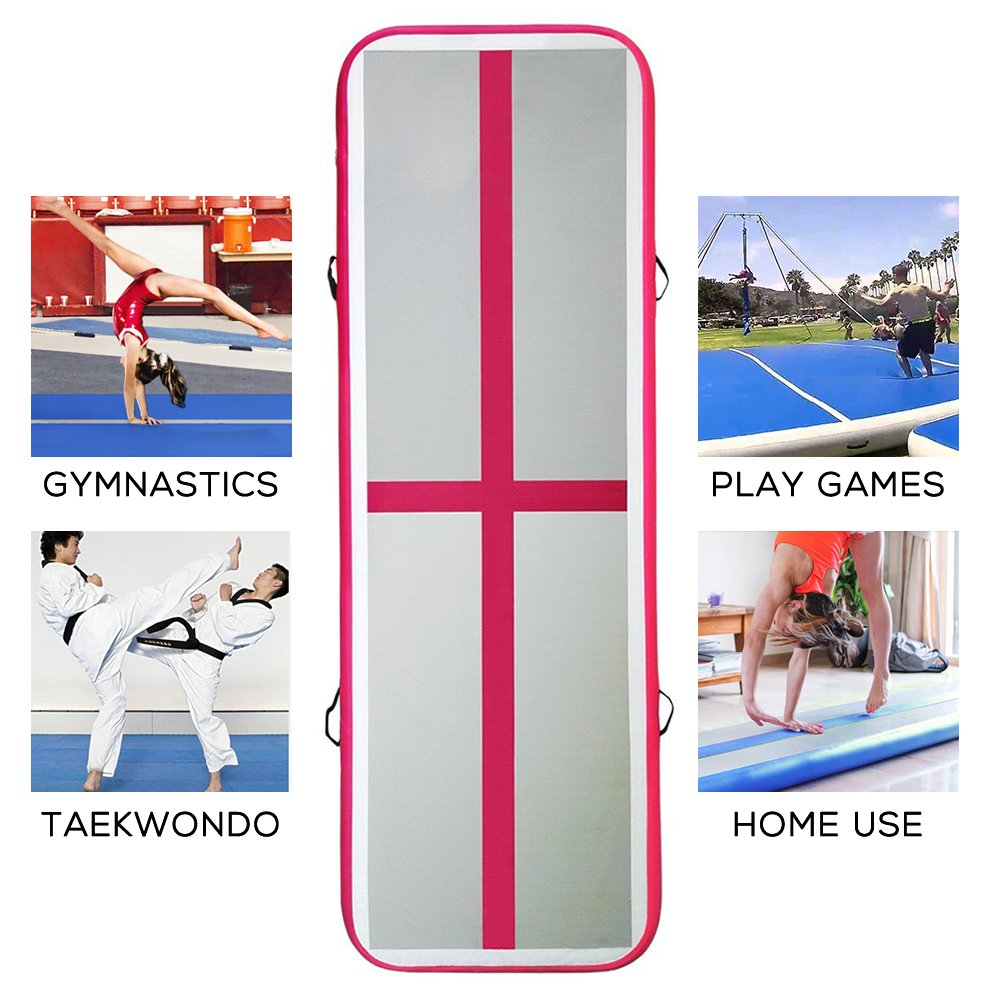 Amazon.com: mergingx airtrack gimnasia colchoneta inflable ...
