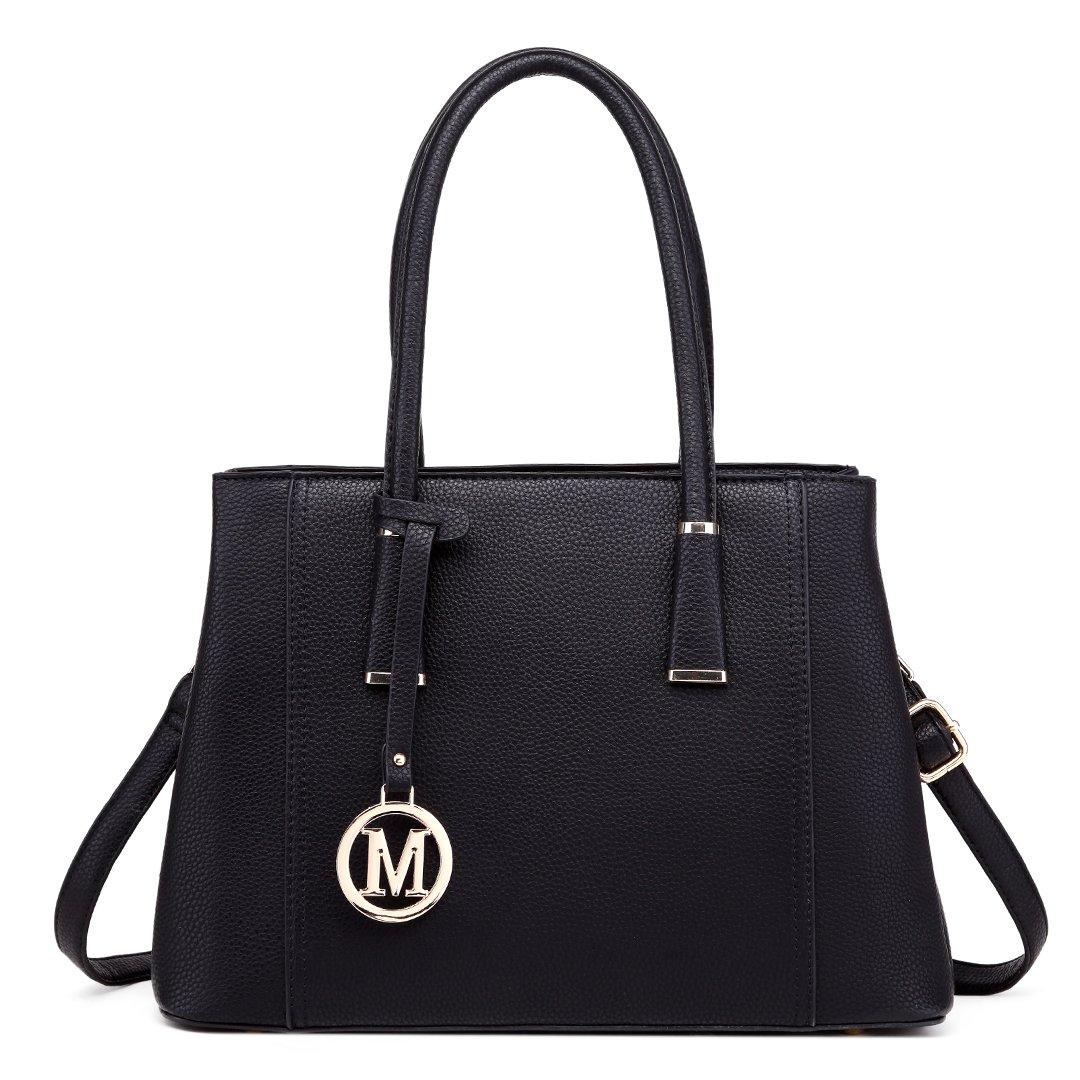 Details about Miss Lulu Leather Look V-Shape Shoulder Handbag Elegant  Design Top Handle Fas. 32e511f2f7c66
