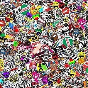 autool 60 x20 jdm panda cartoon graffiti car sticker bomb wrap sheet decal vinyl diy decals. Black Bedroom Furniture Sets. Home Design Ideas