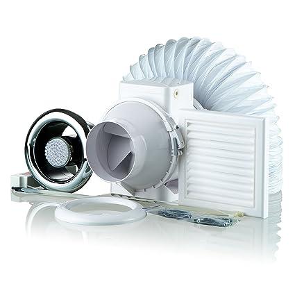 Awe Inspiring Blauberg Uk Tt 100 2 Showerfan Extractor Fan Light Loft Beutiful Home Inspiration Xortanetmahrainfo