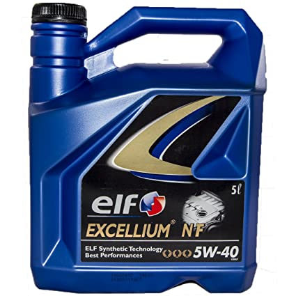 Elf - Excellium 5w-40 nf - Aceite de Motor en garrafa de 5 l