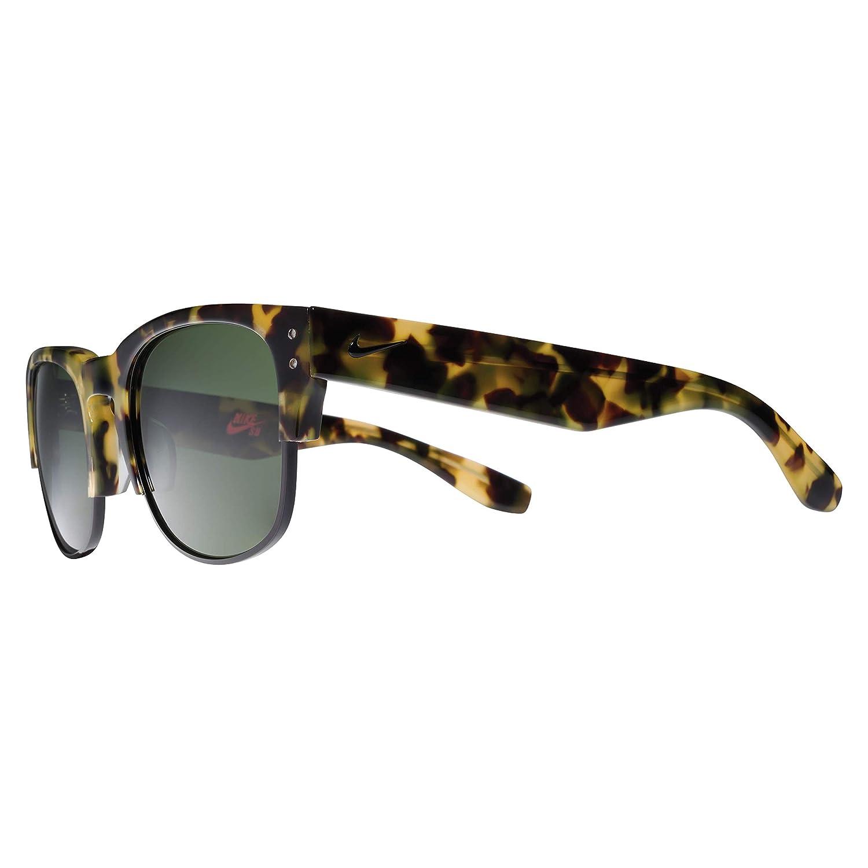 02fbc15e8f70 Amazon.com : Nike Volition Round Sunglasses Grey Tortoise/Hyper Grape One  Size : Clothing