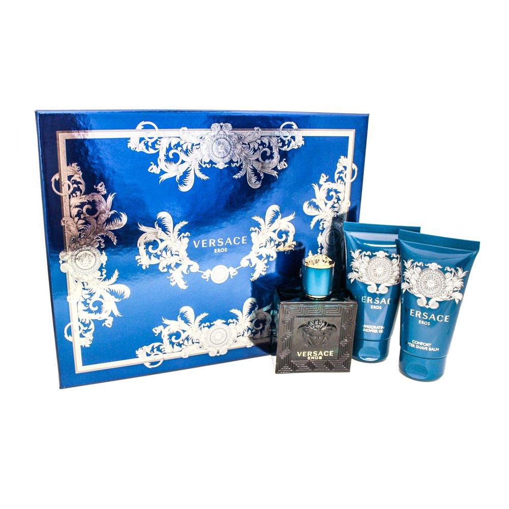 Versace Eros Eau de Toilette Spray for Men, 3.4 Ounce