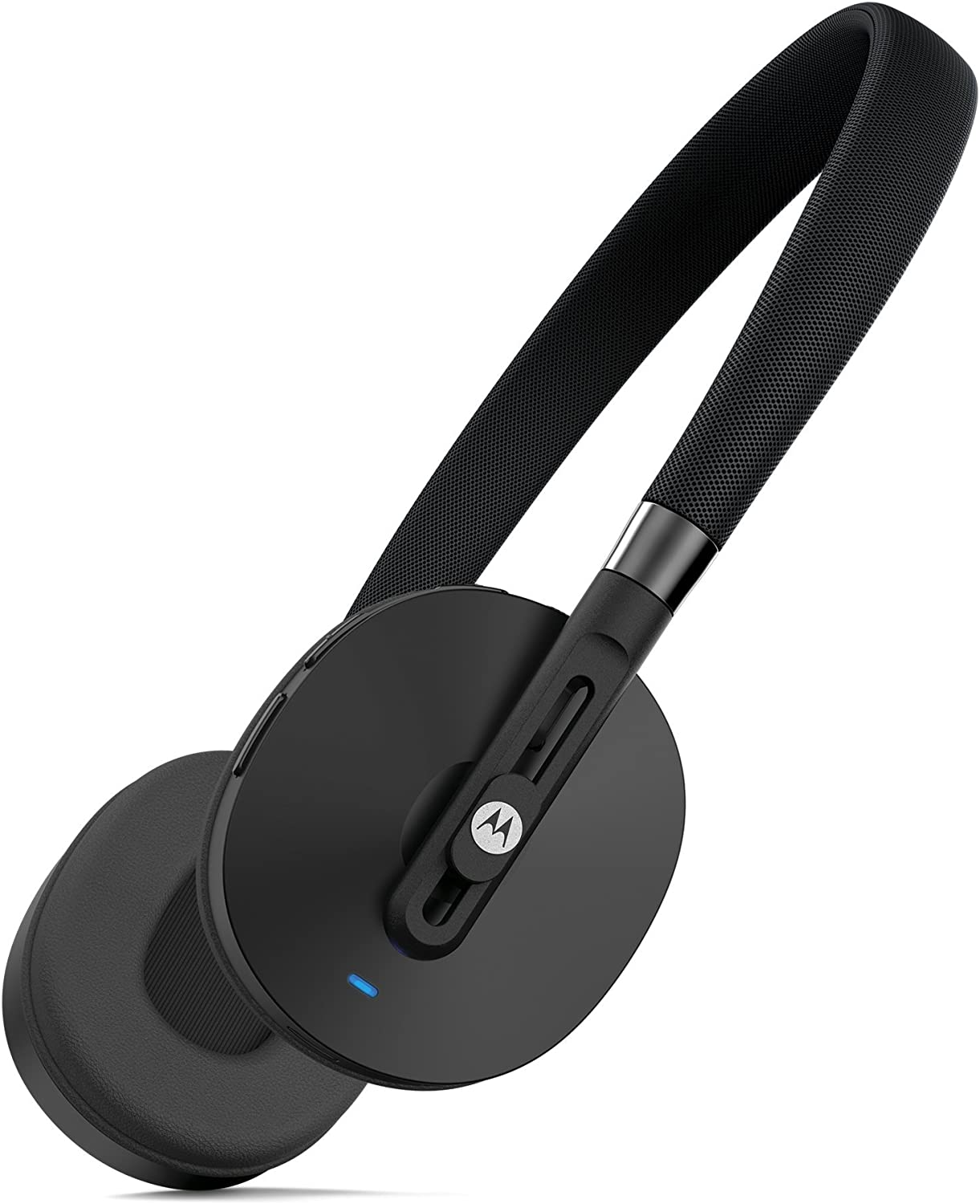 Motorola Pulse Bluetooth Wireless On-Ear Headphones for Android or iOS Device - Retail Packaging - Black