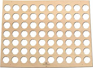 product image for All States Beer Cap Map Colorado – 16x12 inches – 70 caps – Colorado Beer Cap Holder – Birch Plywood