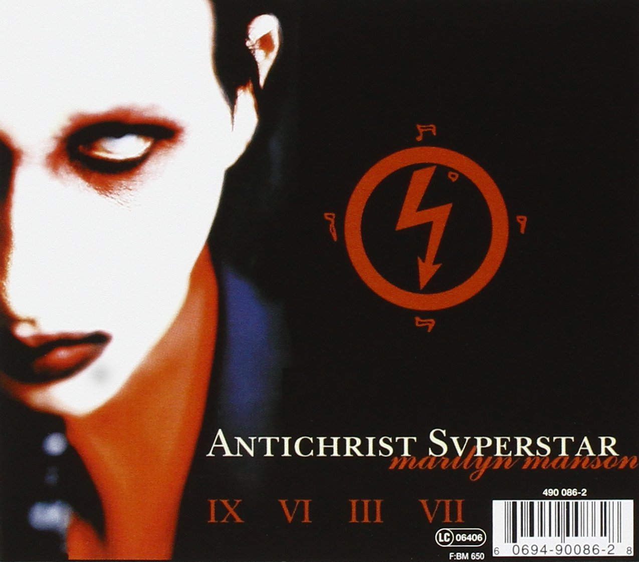 Marilyn manson antichrist superstar amazon music buycottarizona Images