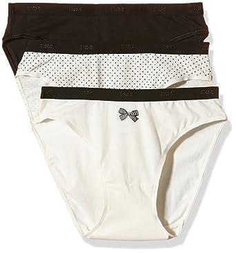 7e5110f32d103 Dim Les Pockets Coton - Lot de 3 Slips - Femme: Amazon.fr: Vêtements ...