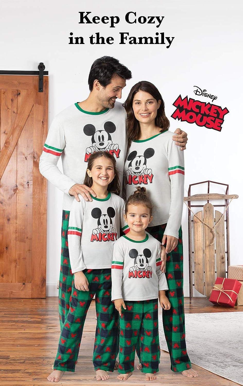 Family Matching Christmas Pajamas Set PajamaGram Holiday Mickey Mouse Pajamas