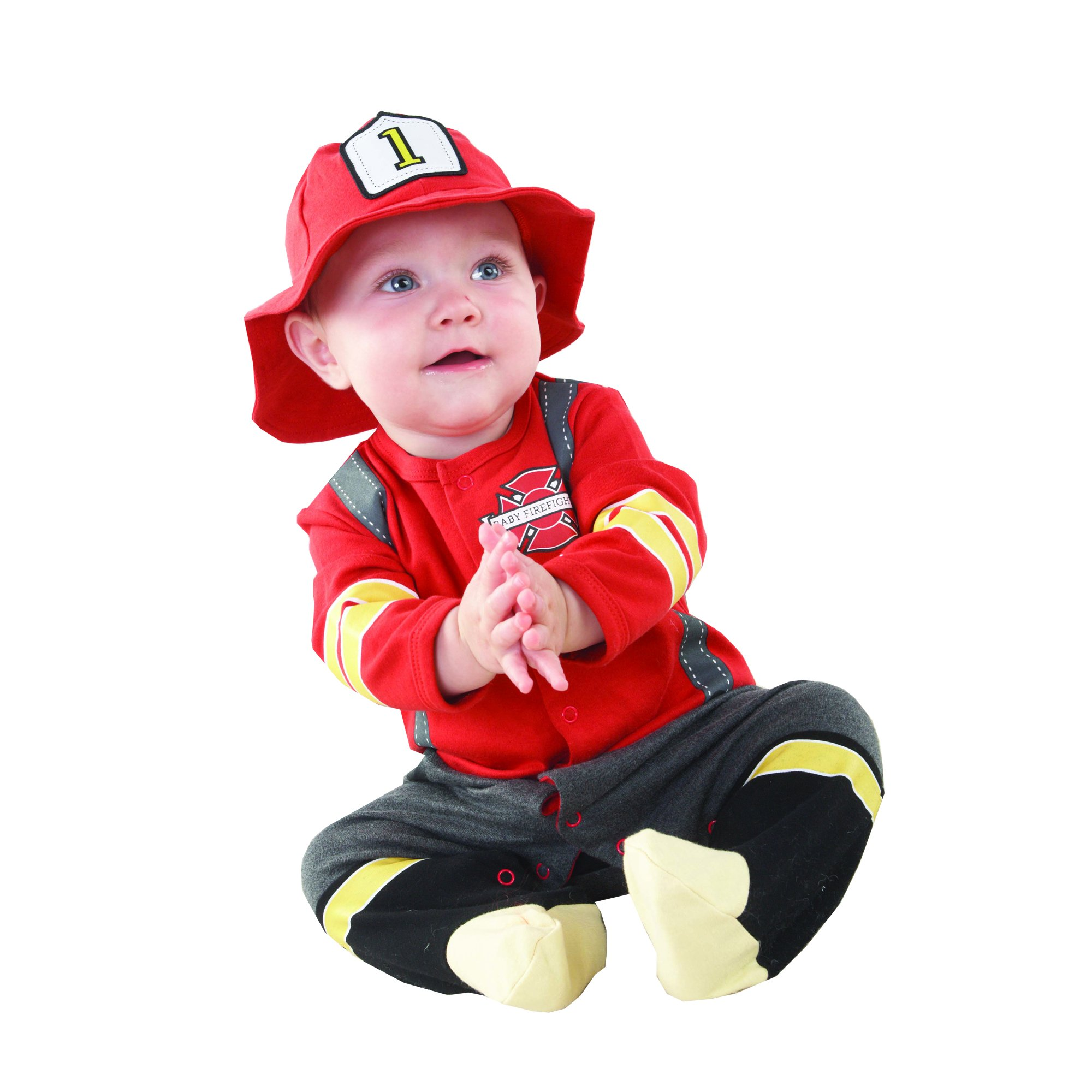 Baby Aspen Baby Firefighter Themed Gift Box Baby Firefighter Newborn Halloween Costume  sc 1 st  Amazon.com & Amazon.com: Baby Aspen Baby M.D. Three-Piece Layette Set in ...