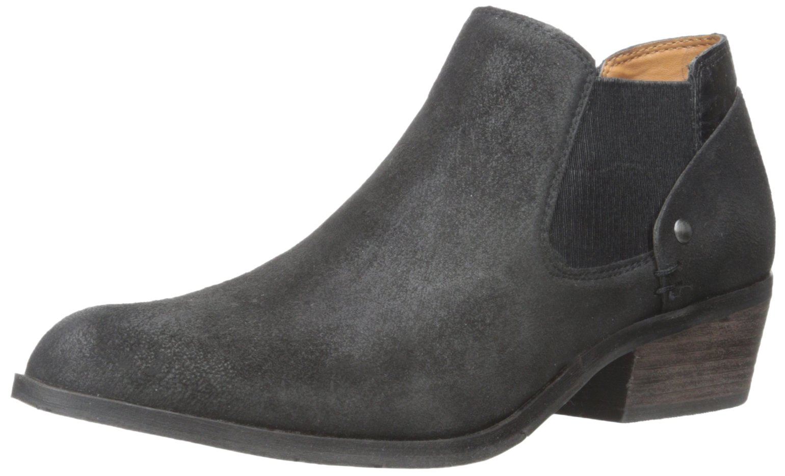 DV by Dolce Vita Women's Caprice Bootie, Black Leather, 8 M US