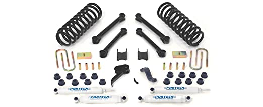 Fabtech K3037 Performance Lift System w/Shock w/Performance Shocks 4.5 in. Lift