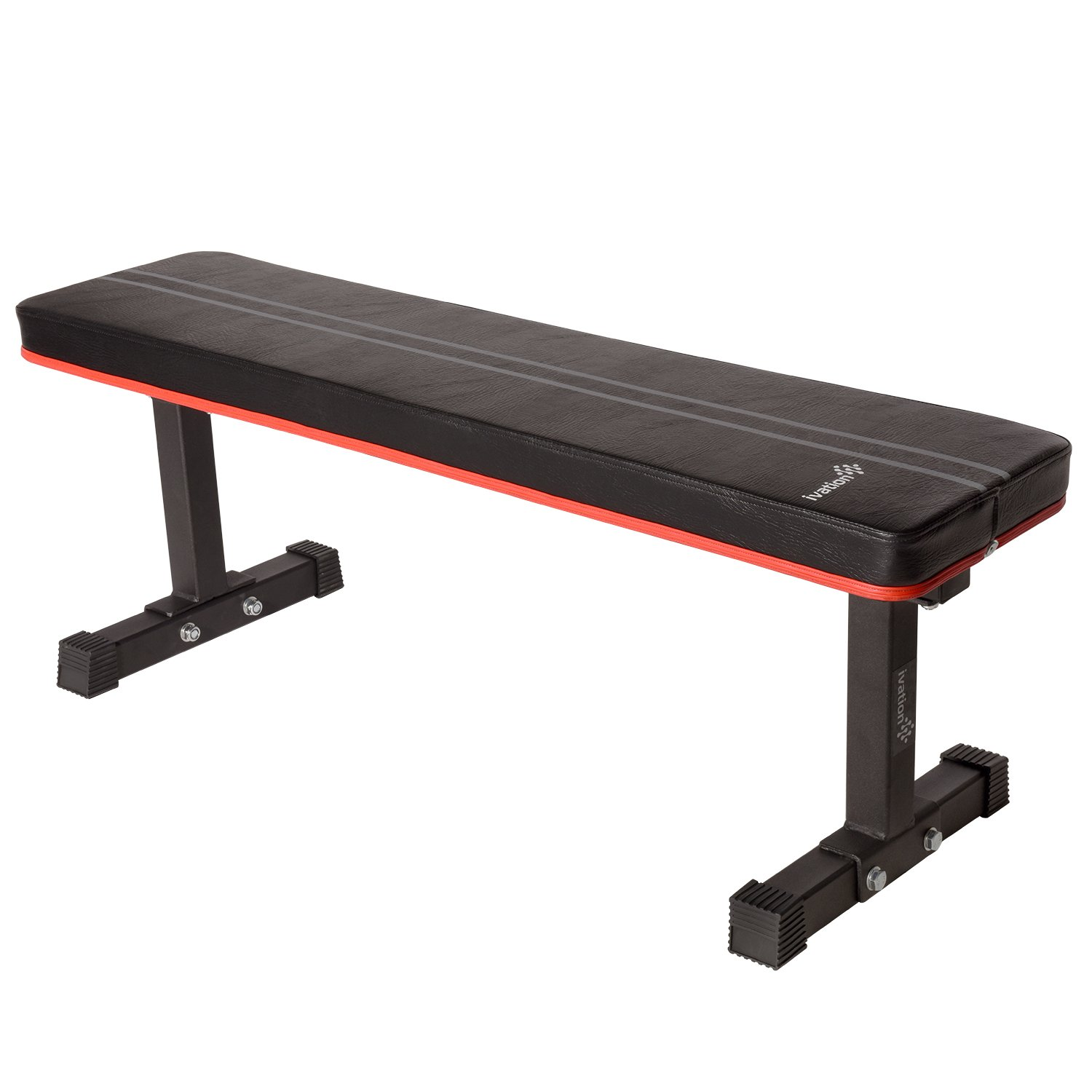 1,000-Lb.-Rated Flat Weight Bench for Weight Lifting – Premium, Heavy-Duty Design Ensures Stability & Proper Back Support
