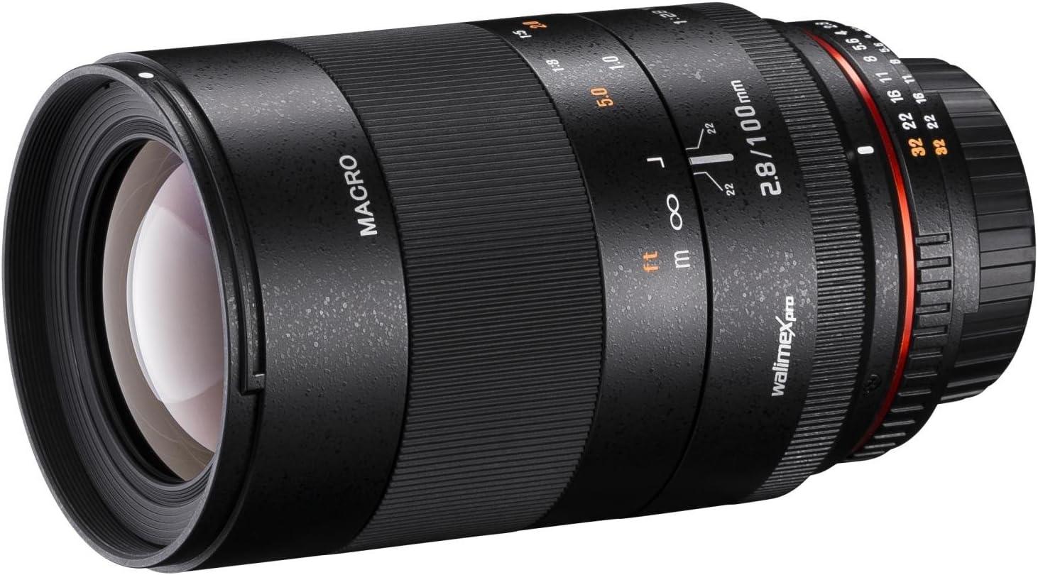 Walimex Pro 100mm 1 2 8 Makro Csc Objektiv Für Sony Kamera