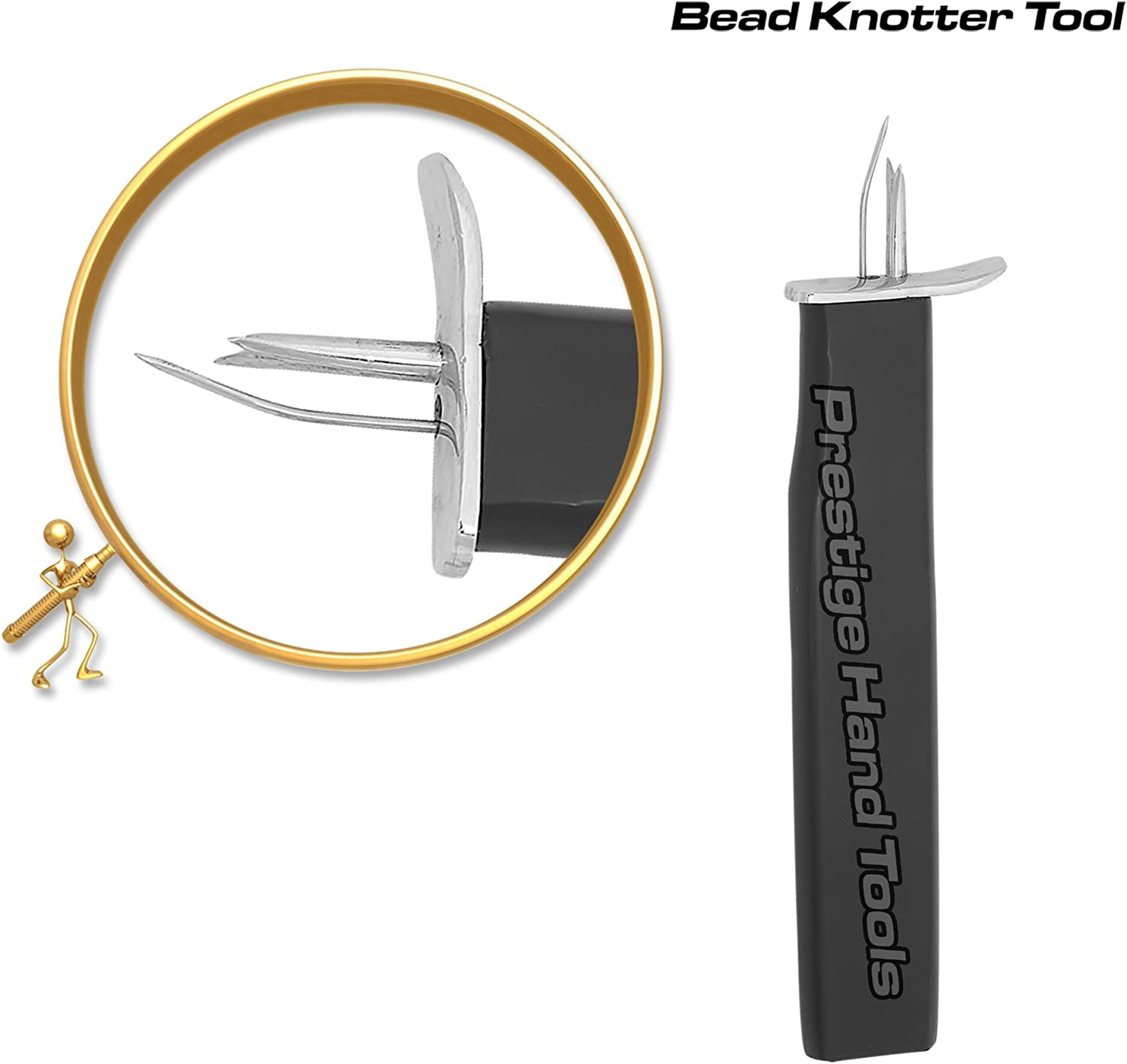 Prestige knotting tool knotter beads jewellers professional tight conistent knot
