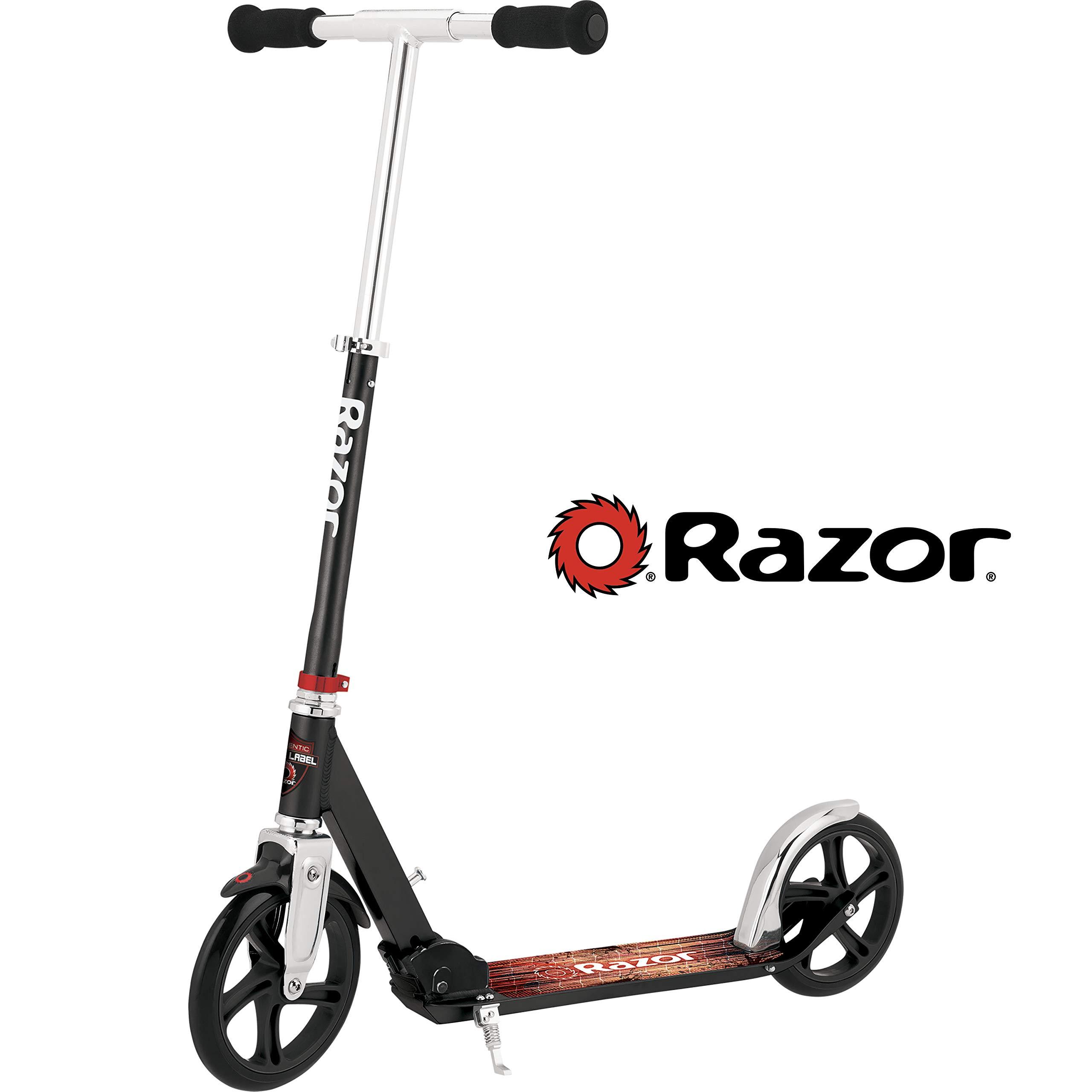 Razor A5 LUX Kick Scooter - Black Label by Razor