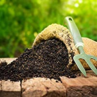 SAPRETAILER Earth Magic Enriched Organic Calcium Magnesium Sulphur Rich Potting Soil Mix with COCOPEAT Vermiculite VERMICOMPOST Cow Manure Organic Fertilizer Compost for Plants