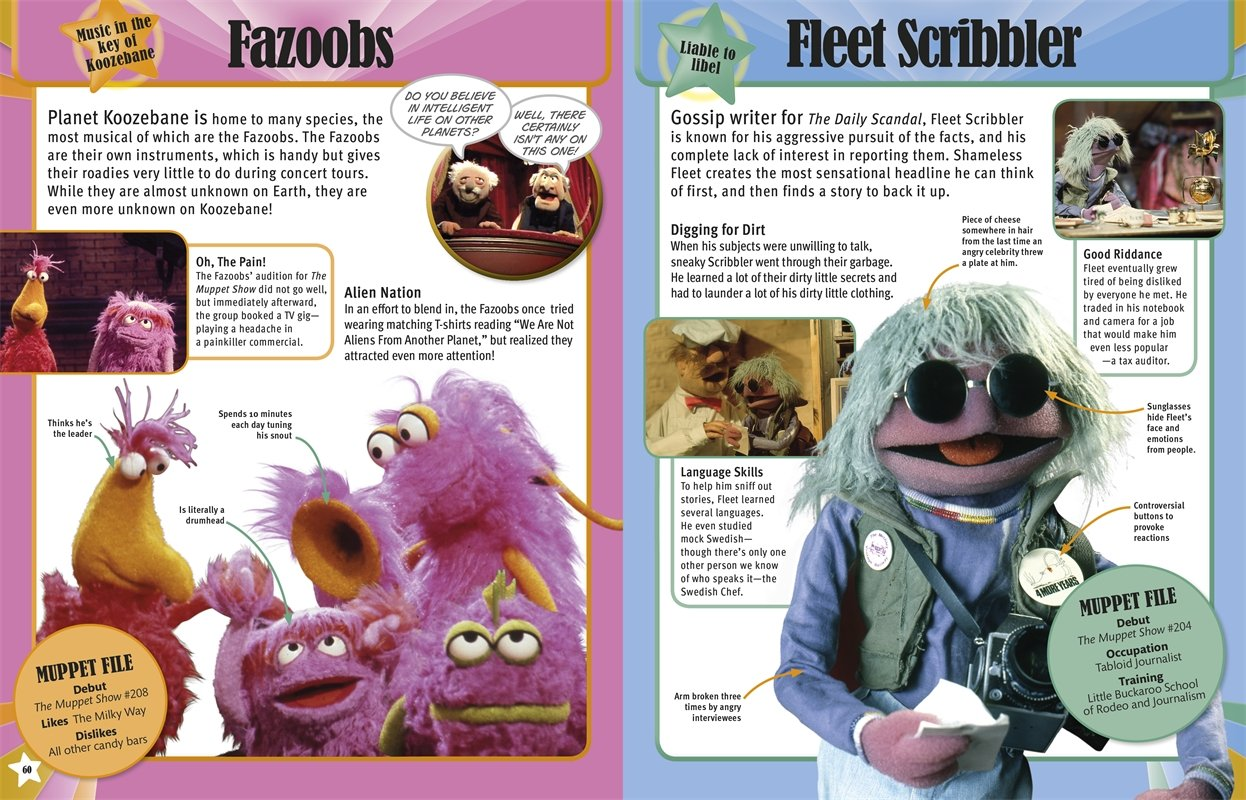 muppets character encyclopedia dk publishing  muppets character encyclopedia dk publishing 9781465417480 com books
