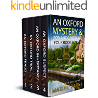 AN OXFORD MYSTERY & ROMANTIC SUSPENSE FOUR-BOOK BOX SET four utterly gripping page-turners (Totally Fabulous Mystery and…