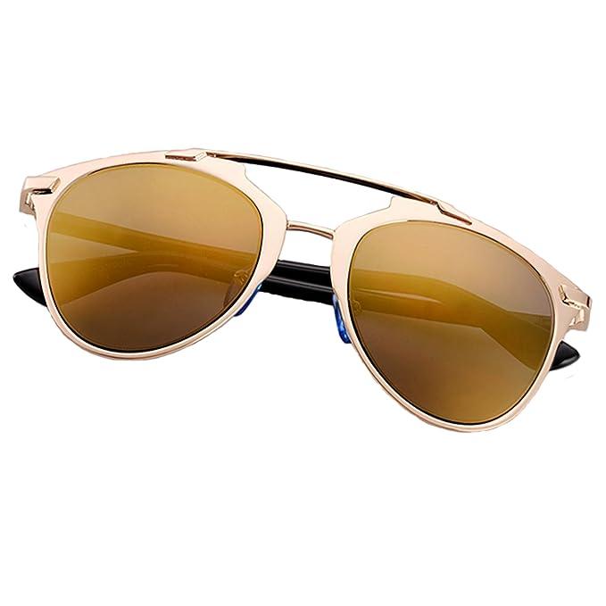katzenaugen sonnenbrillen sonnenbrillen Modische sonnenbrillen schwarzer rahmen Goldlinse U0yQDiF