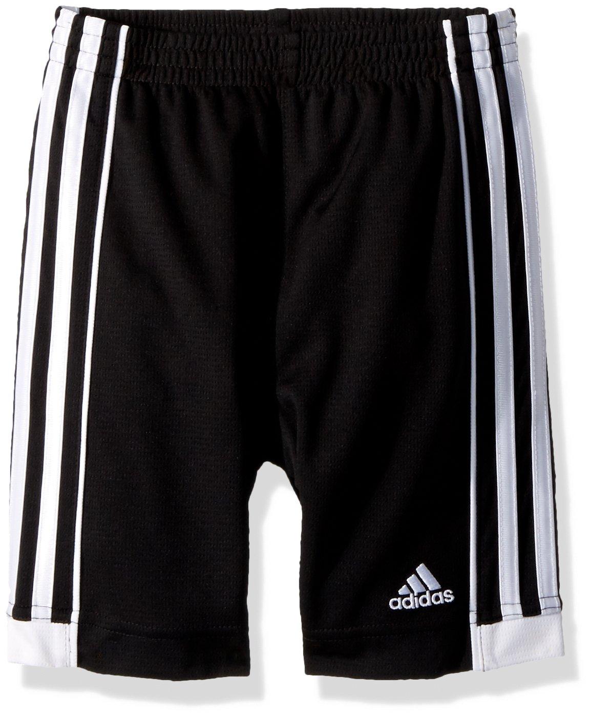 adidas Boys' Little Replen Active Mesh Short, Black