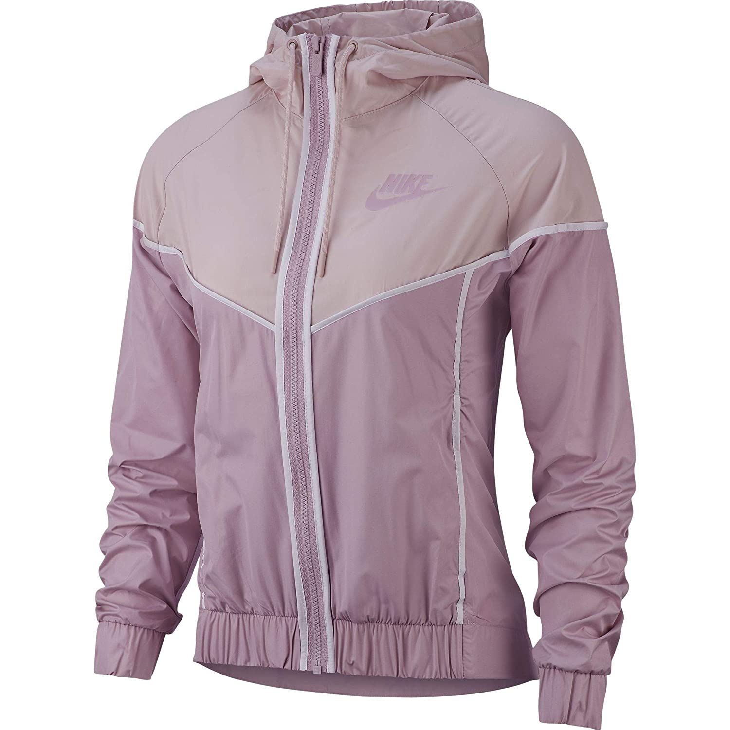 34fb41c22204 Amazon.com  Nike Women s Woven Windrunner Full Zip Windbreaker