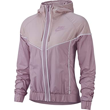 Nike Women's Windbreaker Full-zip Track Jacket Clothing, Shoes & Accessories