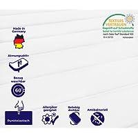 Mister Sandman A0011 7 Zonen Matratze, Härtegrad H2&H3, 2in1, Rollmatratze