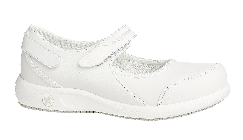 Oxypas Nelie, Women's Safety Shoes, White (Fux),6.5 UK(40 EU)