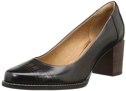 Clarks Para Mujer Sofia black Tacón Tarah 5 Zapatos Negro De 37 q7Xr7pw