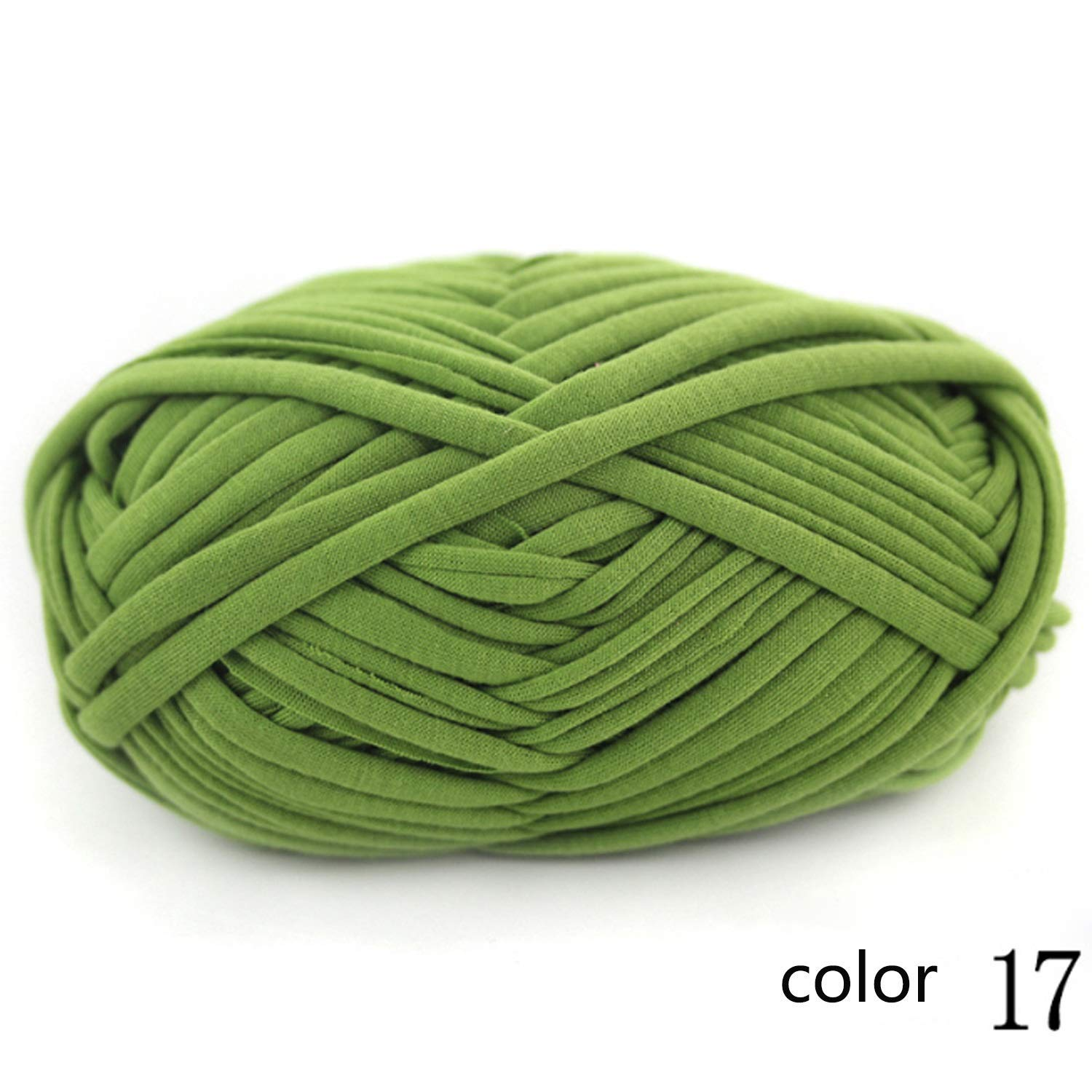 Col 17 1KG JINSH Yarn knitting yarn wiring wire hand woven floor mat DIY cloth Packet line carpet thread 1 0.3 NM 1 ball about 100 g 10 multicolor selection possible (color   Col 20, Size   1KG)